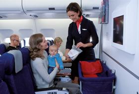voyager avec un bébé en avion formalités