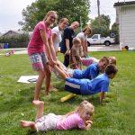 Des olympiades en famille pour s'amuser en été